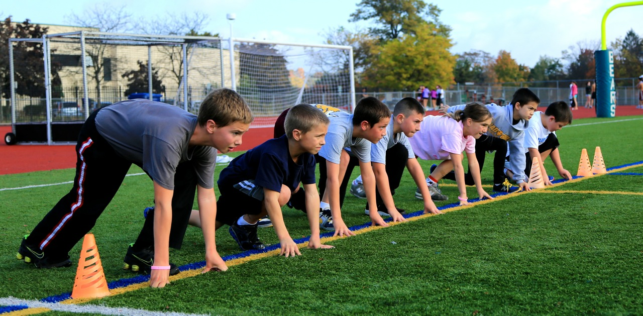 kids boot camp running